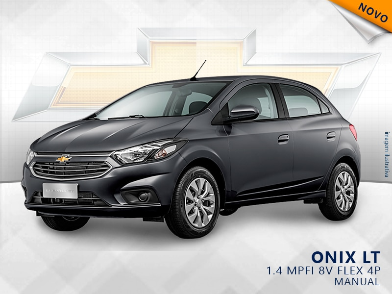 CHEVROLET ONIX MPFI LT 8V FLEX 4P MANUAL 1.4 2019