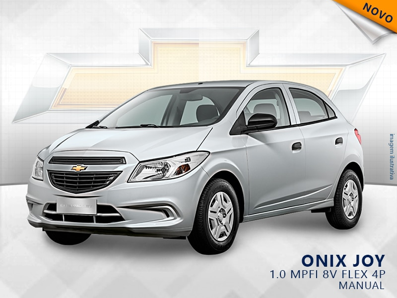 CHEVROLET ONIX MPFI JOY 8V FLEX 4P MANUAL 1.0 2019