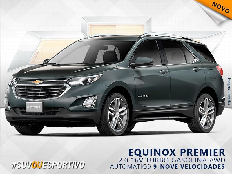 CHEVROLET EQUINOX 16V TURBO GASOLINA PREMIER AWD AUTOMÁTICO 2.0 2019