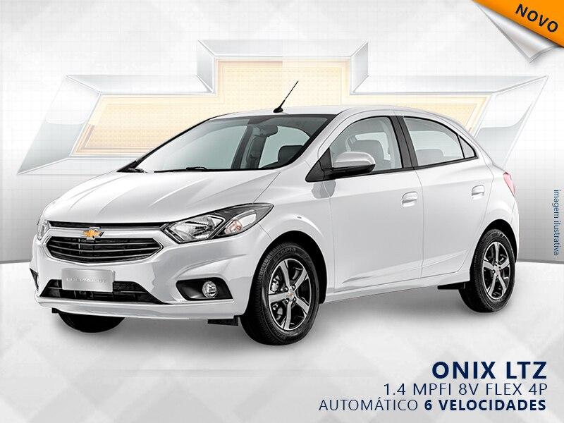 CHEVROLET ONIX MPFI LTZ 8V FLEX 4P AUTOMÁTICO 1.4 2019