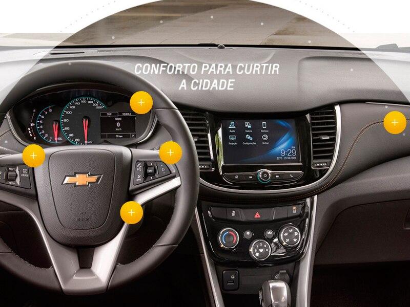 CHEVROLET TRACKER 16V TURBO FLEX MIDNIGHT AUTOMÁTICO 1.4 2019