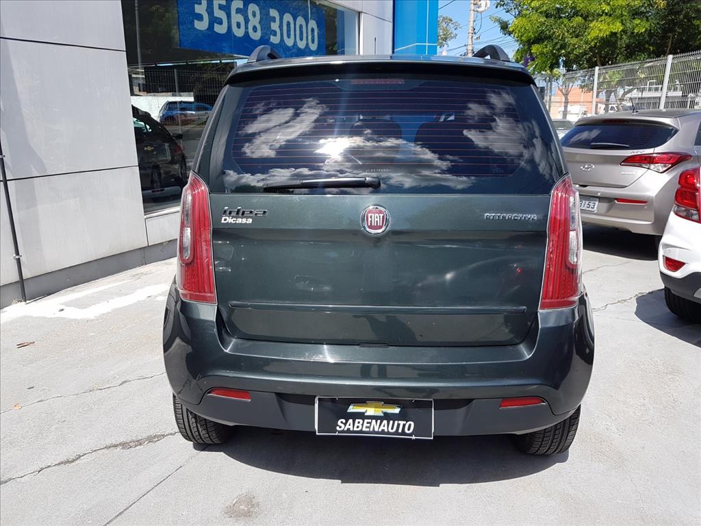FIAT IDEA MPI ATTRACTIVE 8V FLEX 4P MANUAL 1.4 2012