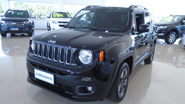 JEEP RENEGADE SPORT 1.8 FLEX MANUAL 1.8 2017