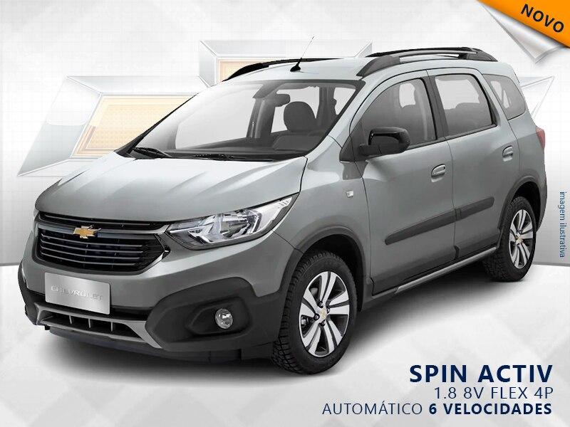 CHEVROLET SPIN ACTIV 8V FLEX 4P AUTOMÁTICO 1.8 2019