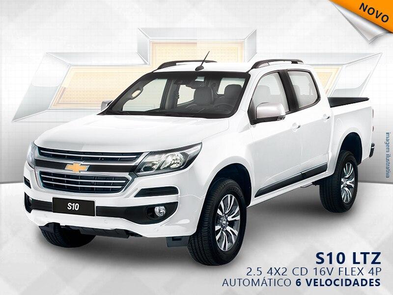 CHEVROLET S10 LTZ 4X2 CD 16V FLEX 4P AUTOMÁTICO 2.5 2019