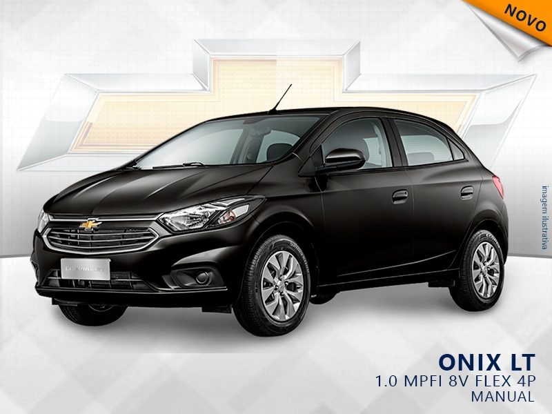 CHEVROLET ONIX MPFI LT 8V FLEX 4P MANUAL 1.0 2019