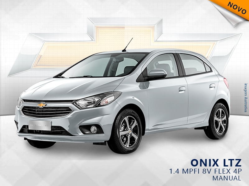 CHEVROLET ONIX MPFI LTZ 8V FLEX 4P MANUAL 1.4 2019