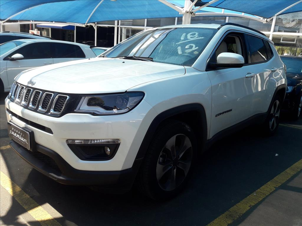 JEEP COMPASS 16V FLEX LONGITUDE AUTOMÁTICO 2.0 2018