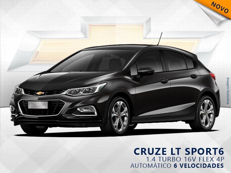 CHEVROLET CRUZE TURBO SPORT6 LT 16V FLEX 4P AUTOMÁTICO 1.4 2019