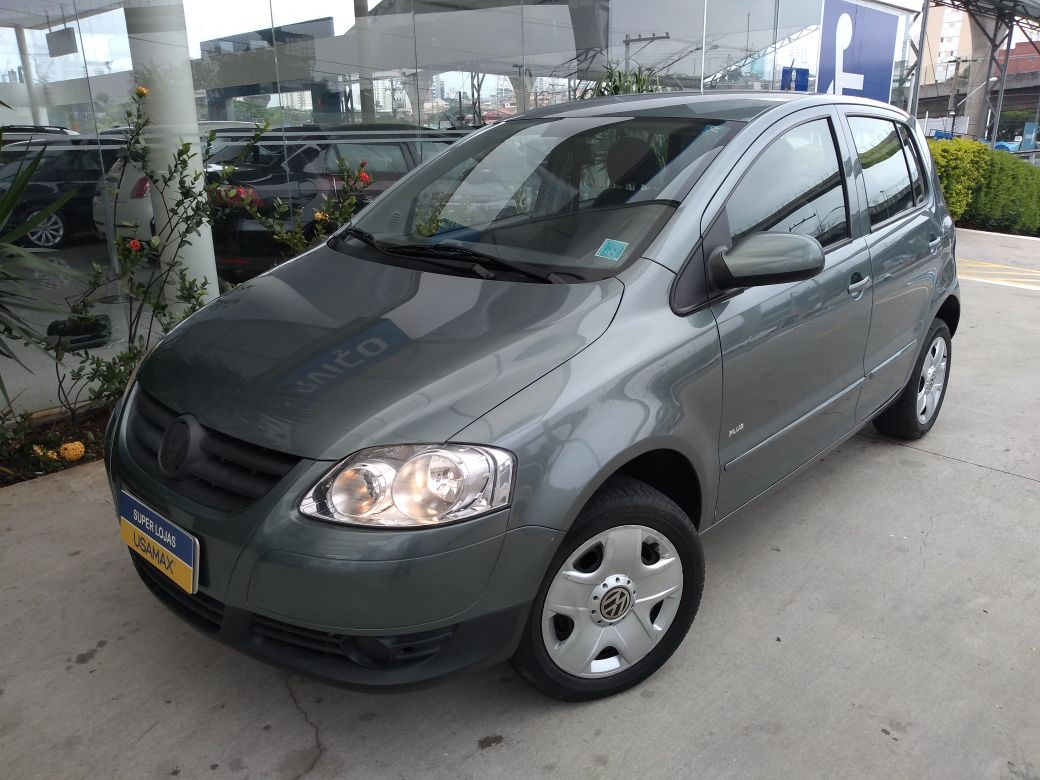 VOLKSWAGEN FOX 1.6 MI PLUS 8V FLEX 4P - 2010